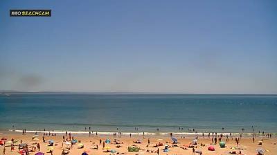 Vista de cámara web de luz diurna desde Lisbon: Praia de Torre Praia _ da _ Torre
