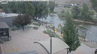 Salida: ColoradoWebCam.NetSalida - Steam Plant Theater Arkansas River Up River - Current