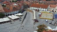 Historic Center: Sibiu - Piata Mare webcam - Day time