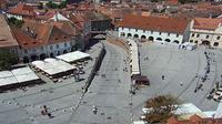 unknown: Sibiu - Piata Mare webcam - Day time