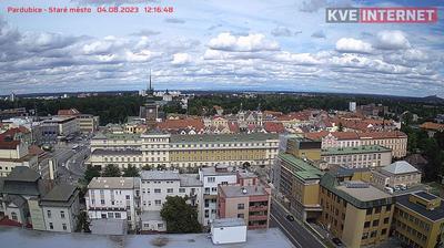 Tageslicht webcam ansicht von Pardubice: Staré Město