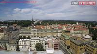 Pardubice: Staré Město - El día