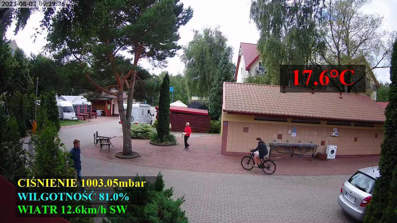 Webcam Leba: Camping Przymorze Nr48