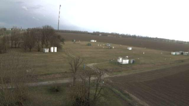 Webcam San Pietro Capofiume: base meteo Arpa