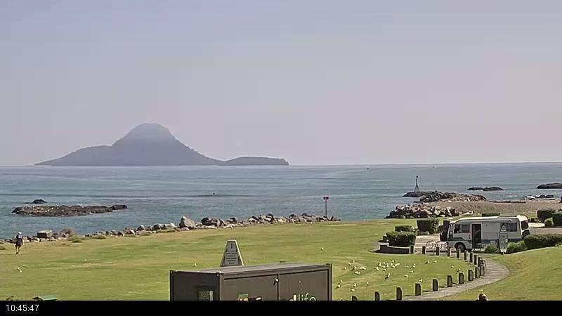 Webcam Whakatane: river bar − Seafront Views