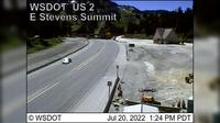 Wenatchee › West: US  at MP .: East Stevens Pass Summit - Overdag