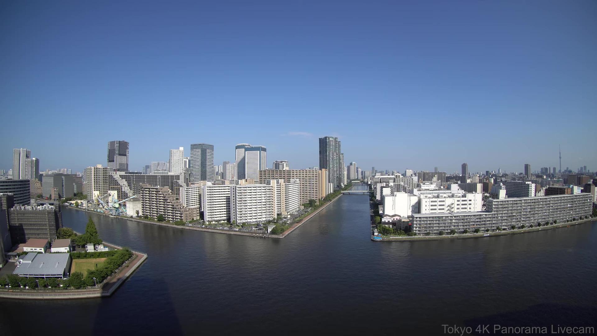 Webkamera 本郷: City − Bay − Canal Side