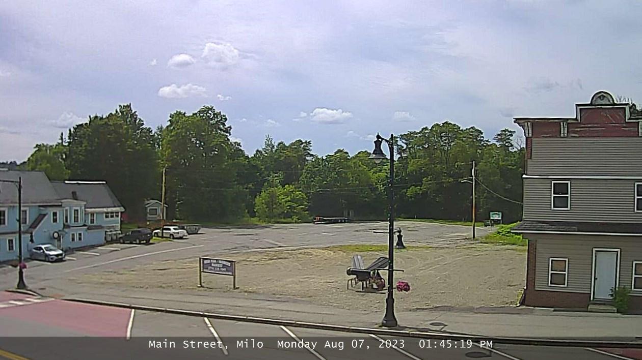 Webcam Milo › West: Main St
