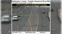 Tualatin: Washington County - Sherwood Rd at th - Overdag