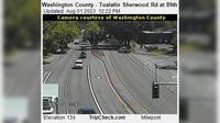 Tualatin: Washington County - Sherwood Rd at th - Jour