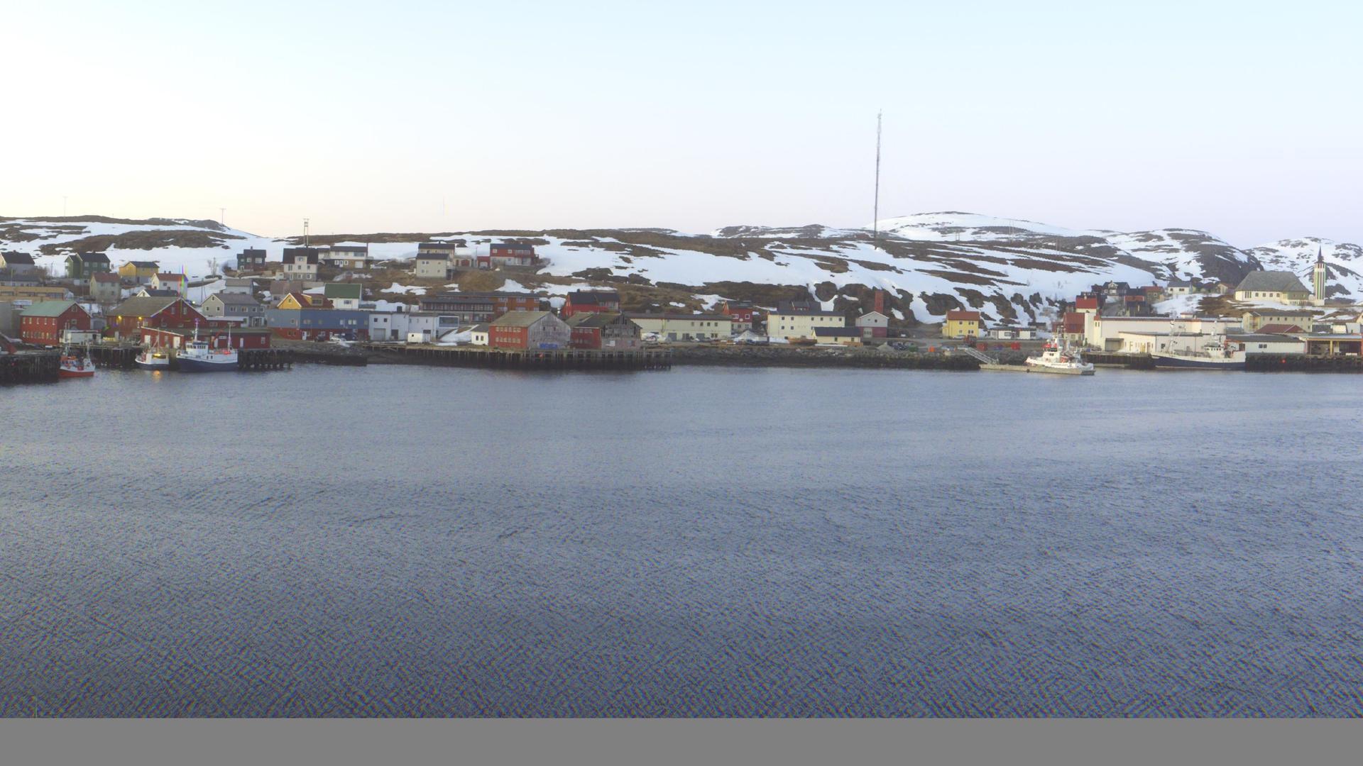 Webcam Mehamn: Molo