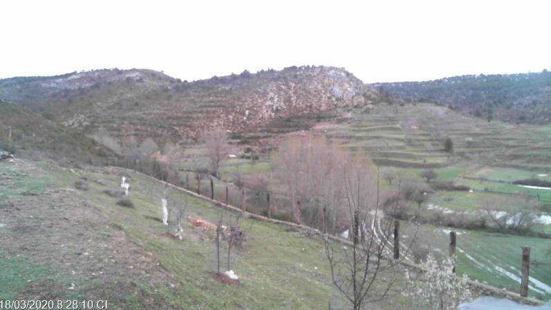 Webcam Zafrilla › North: Río Zafrilla