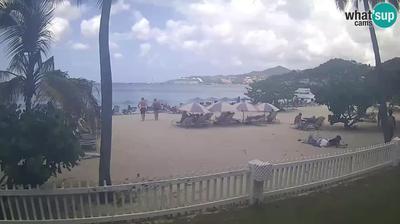Vue webcam de jour à partir de St. George's: Native Spirit Scuba on Grand Anse Beach