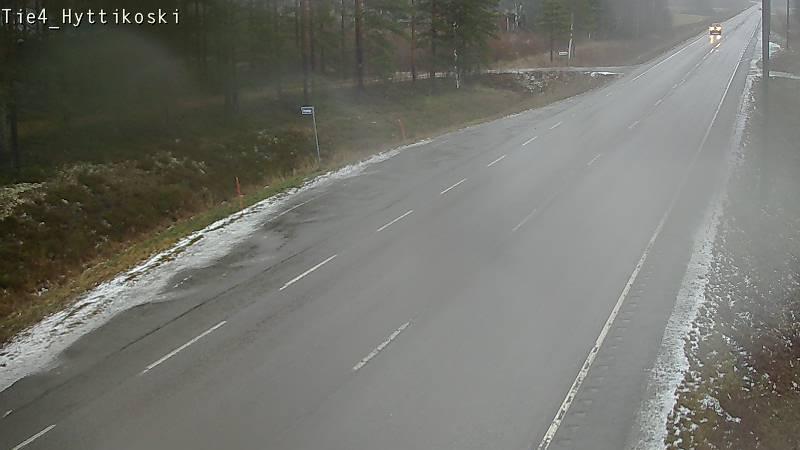 Webcam Sipola: Tie 4 Pulkkila, Hyttikoski − Ouluun