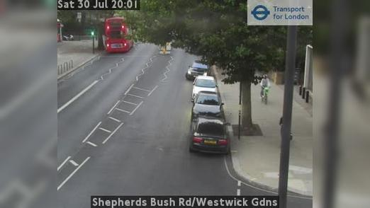 Webcam Acton: Shepherds Bush Rd/Westwick Gdns