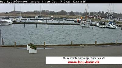 Vista de cámara web de luz diurna desde Hou › South West: North − Havn