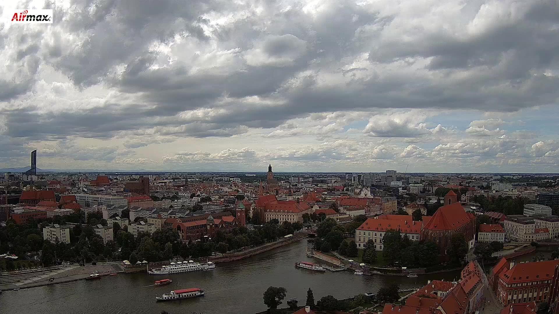 Kamera Wrocław - rzeka Odra