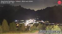 Toblach - Dobbiaco: Alpenhotel Ratsberg - Blick nach Süden