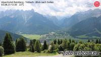 Toblach - Dobbiaco: Alpenhotel Ratsberg - Blick nach S�den - Jour