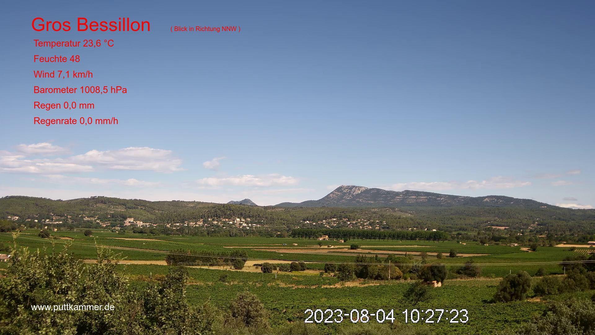 webcam de l'arrière-pays du Var météopassion