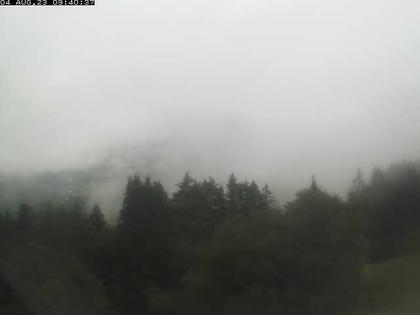 La Forclaz: Vue de Leysin depuis - Vaud