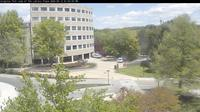 Ultima vista de la luz del día desde Blacksburg › North East: Tech, Library Plaza Webcam − VA