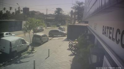 Vue webcam de jour à partir de Guarujá: Guaruja SP − vista a partir da Marine Service