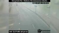 Caboolture: Morayfield - Morayfield Road - Walkers Road intersection (North) - Day time