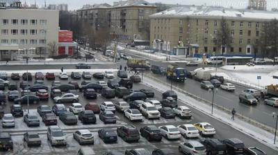 Webcam Mytishchi: центр. Пересечение Новомытищинского про