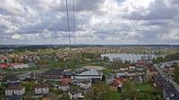 Norra Sandsjo distrikt: Nässjö, panoramabilder från vattentornet - Dia