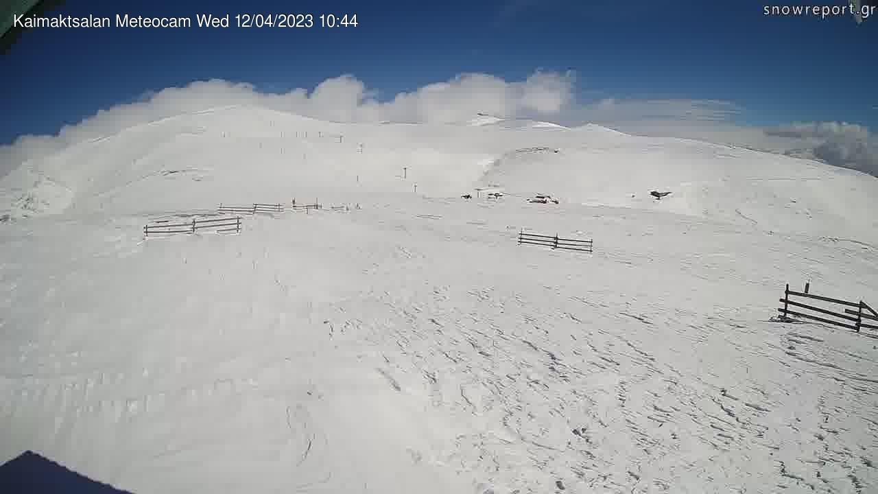 Webcam Voras › South: Χιονοδρομικό κέντρο Βόρα - Καϊμάκτσ