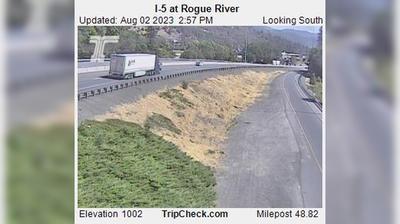 Vignette de Rogue River webcam à 4:17, oct. 20