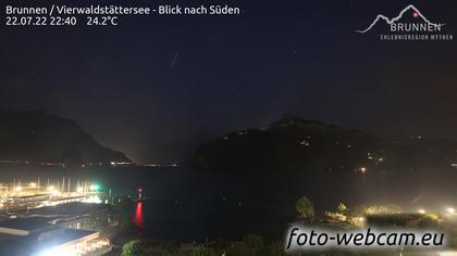 Ingenbohl: Brunnen - Vierwaldstättersee - Blick nach Süden