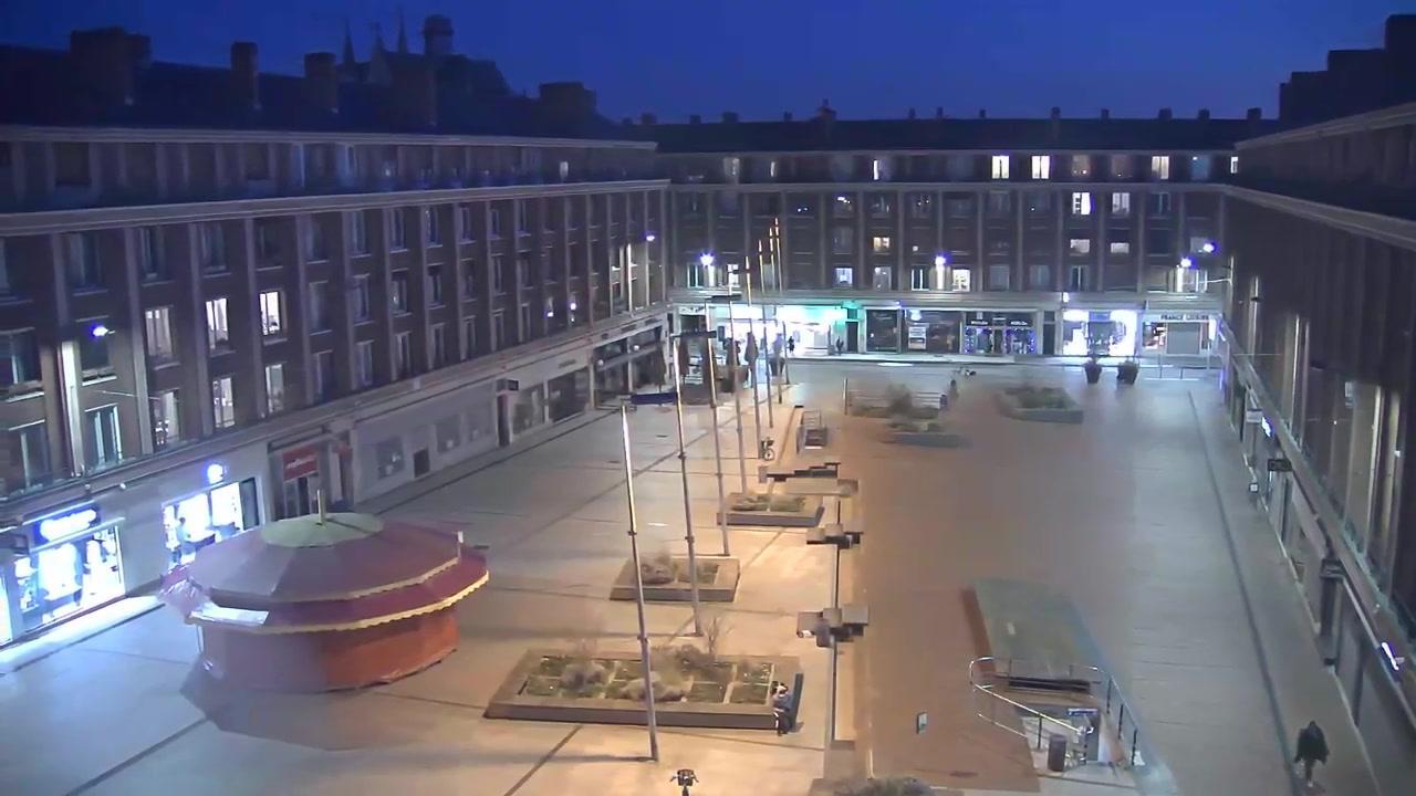 Webkamera Amiens: Hotel de Ville