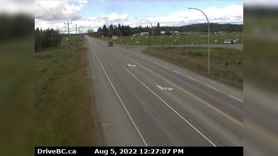Webcam Vanderhoof › West: Hwy 16 at Hwy 27 Junction, look