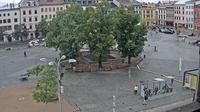 Jihlava › North-West: Mariánský morový sloup - Masarykovo náměstí - El día