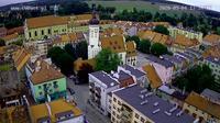 Wolow: Rzeczpospolita - rynek, ratusz, panorama - Jour