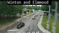 East Rochester: Winton Rd at Elmwood Ave - Dagtid