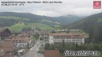 Toblach - Dobbiaco: Apparthotel Germania - Neu - Blick nach Norden