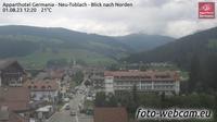 Toblach - Dobbiaco: Apparthotel Germania - Neu - Blick nach Norden - Dagtid