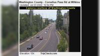 Hillsboro: Washington County - Cornelius Pass Rd at Wilkins St - Current