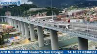 Genoa > North-West: Viadotto San Giorgio - Day time