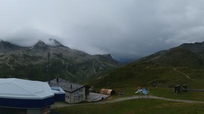 Tageslicht webcam ansicht von Splügen: Tanatzhöhe Skigebiet