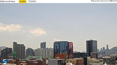 Daylight webcam view from Hong Kong: Downtown live webcam in China