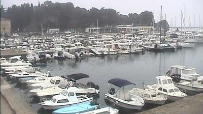 Daylight webcam view from Poreč: Trg slobode