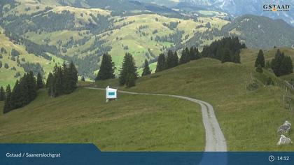 Saanenmöser: Gstaad - Saanerslochgrat, Bergstation