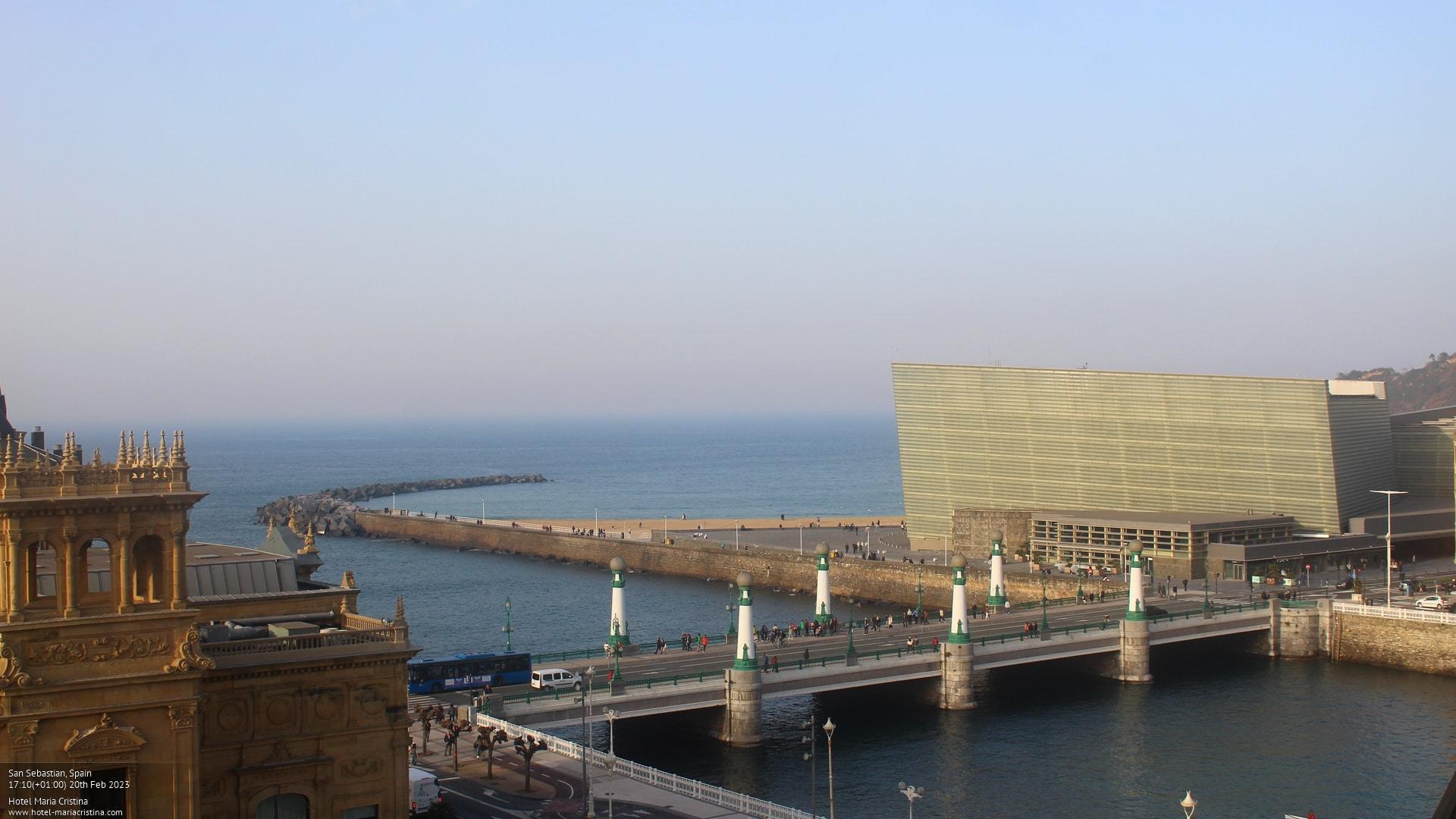 Webcam San Sebastian: View from Hotel Maria Cristina