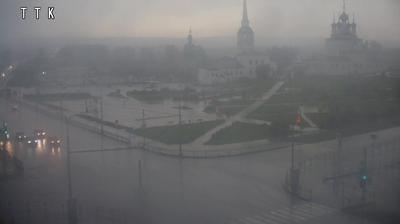 Соликамск: СОЛИКАМСК - СОБОРНАЯ ПЛОЩАДЬ