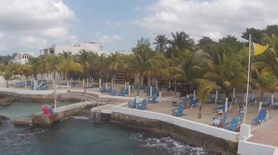 Webcam San Miguel de Cozumel: Hotel − Resort Playa
