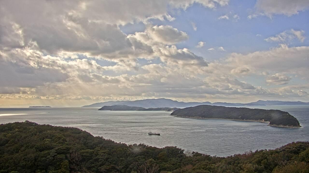 Webcam 由良町由良: Wakayama − Kitan Strait